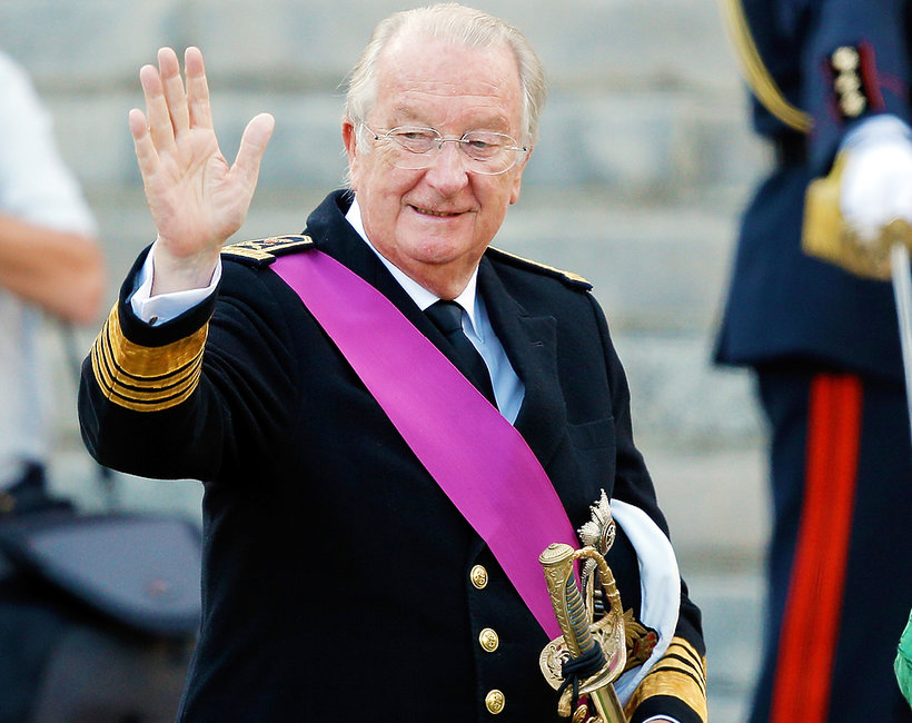 Albert II, były król Belgów