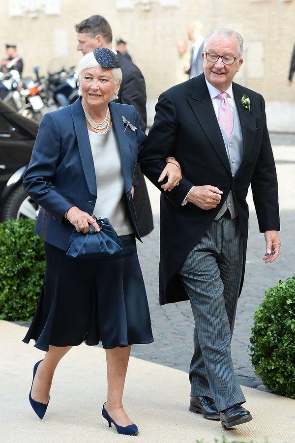 Albert II i królowa Paola