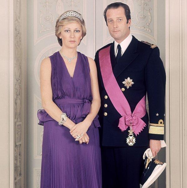 Albert II i królowa Paola w 1974 roku