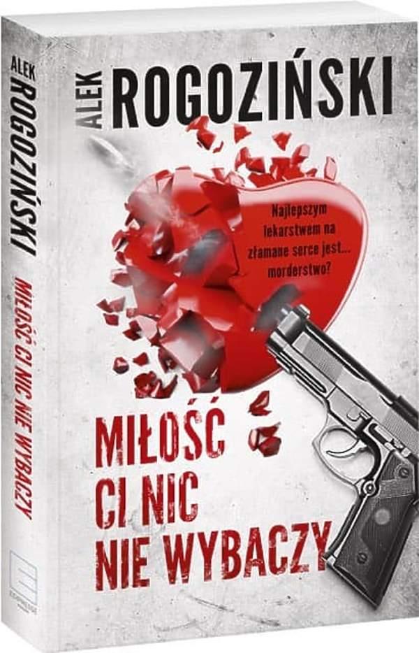 Alek Rogoziński, książka