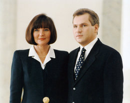 Aleksander Kwaśniewski, Jolanta Kwaśniewska 1995
