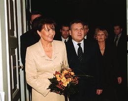 Aleksander Kwaśniewski, Jolanta Kwaśniewska 2001
