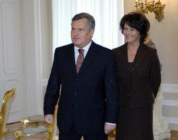Aleksander Kwaśniewski, Jolanta Kwaśniewska 2004