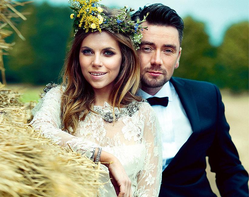 Aleksandra Kwaśniewska i Kuba Badach, ślub, sesja VIVA!