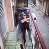 Aleksandra Kwaśniewska na wakacjach na Kubie