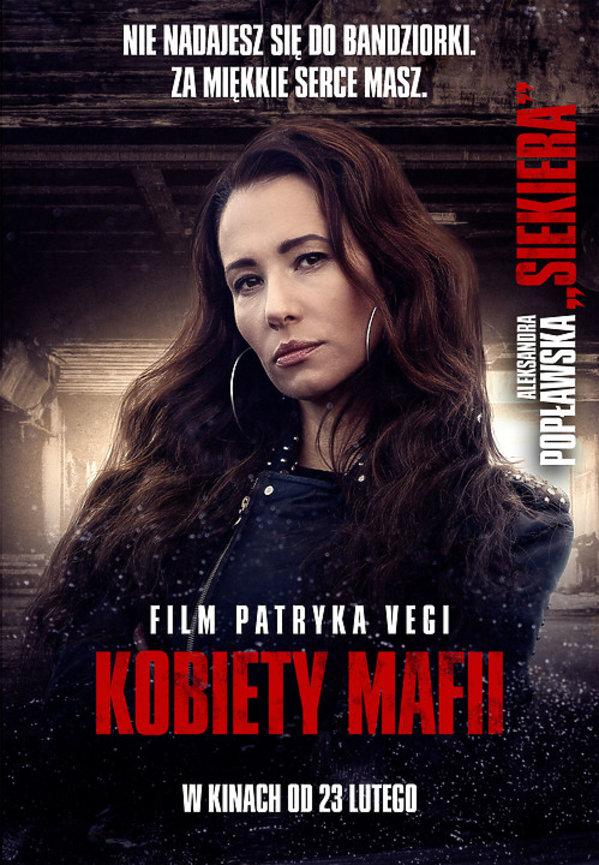 Aleksandra Popławska, Film Patryka Vegi, Kobiety Mafii