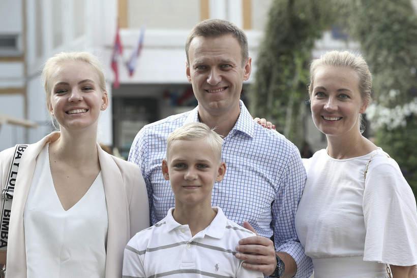 Aleksiej Nawalny, dzieci