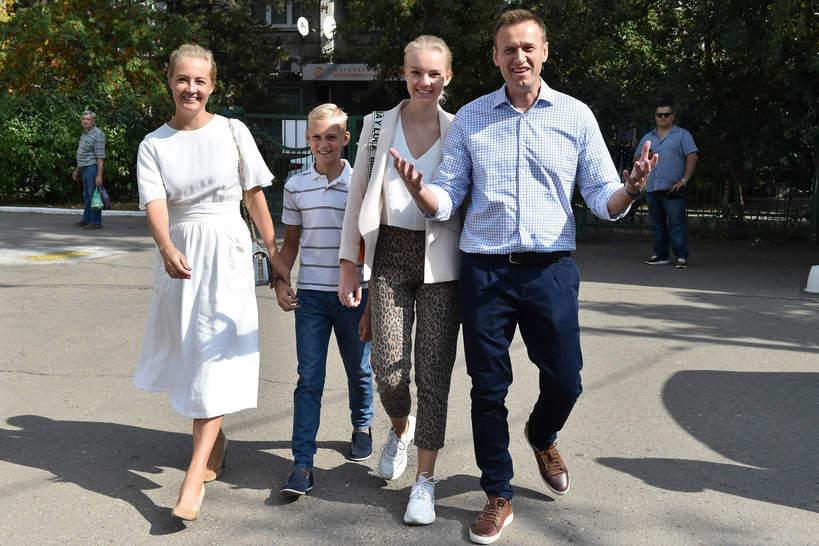 Aleksiej Nawalny rodzina