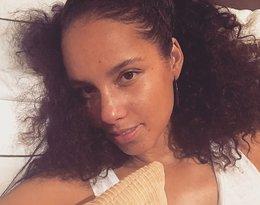 Alicia Keys bez makijażu