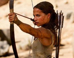 Alicia Vikander zachwyca idealną figurą w nowym filmie Tomb Rider