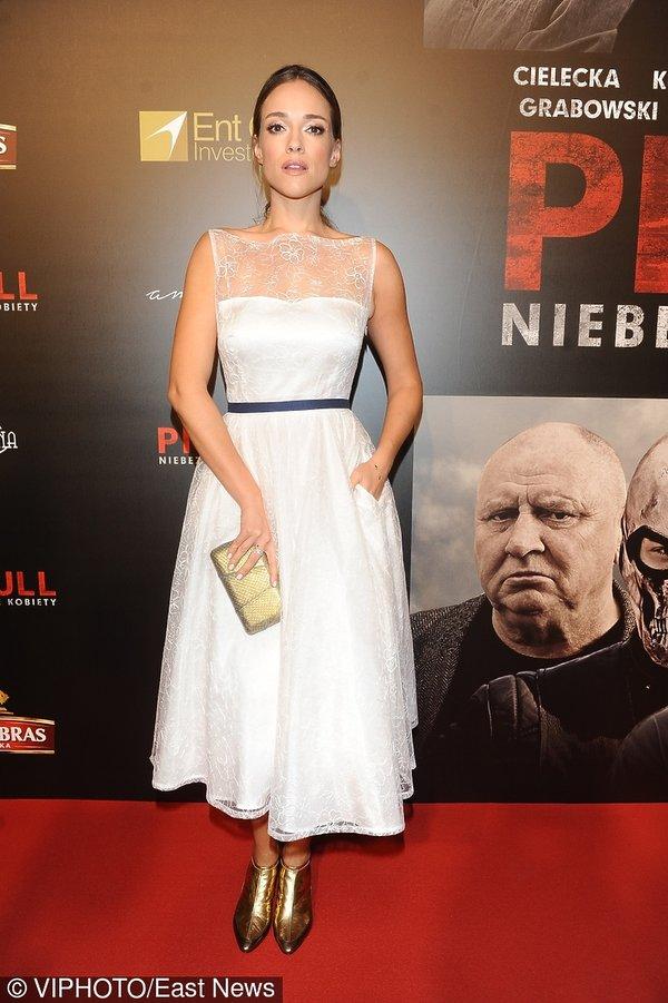 Alicja Bachleda-Curuś na premierze filmu Pitbull. Niebezpieczne kobiety