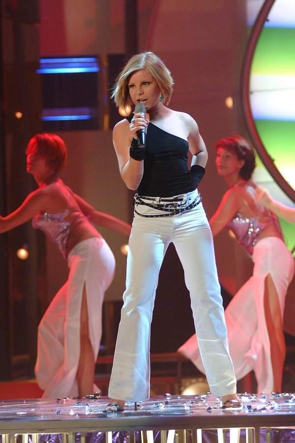 alicja Janosz w programie Idol, 2002