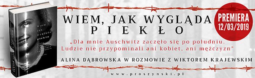 Alina Dąbrowska, książka Wiem, jak wygląda piekło