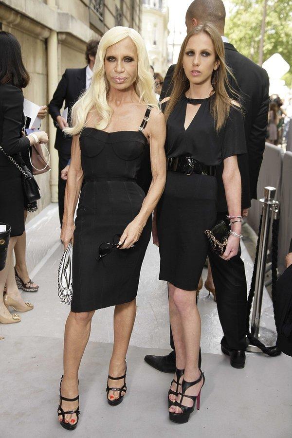 Allegra Versace z mamą