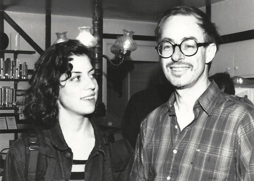 Alysia Abbott i jej ojciec Steve Abbott, 1992