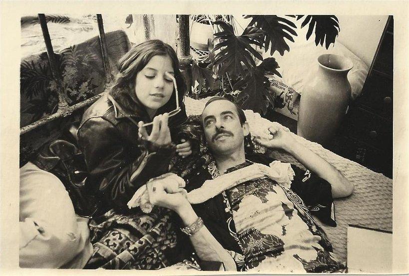 Alysia Abbott i jej ojciec Steve Abbott