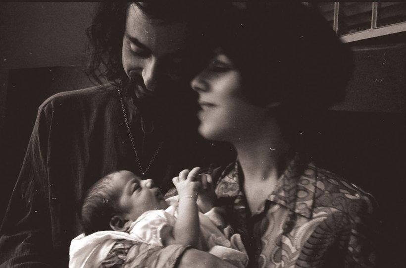 Alysia Abbott z rodzicami