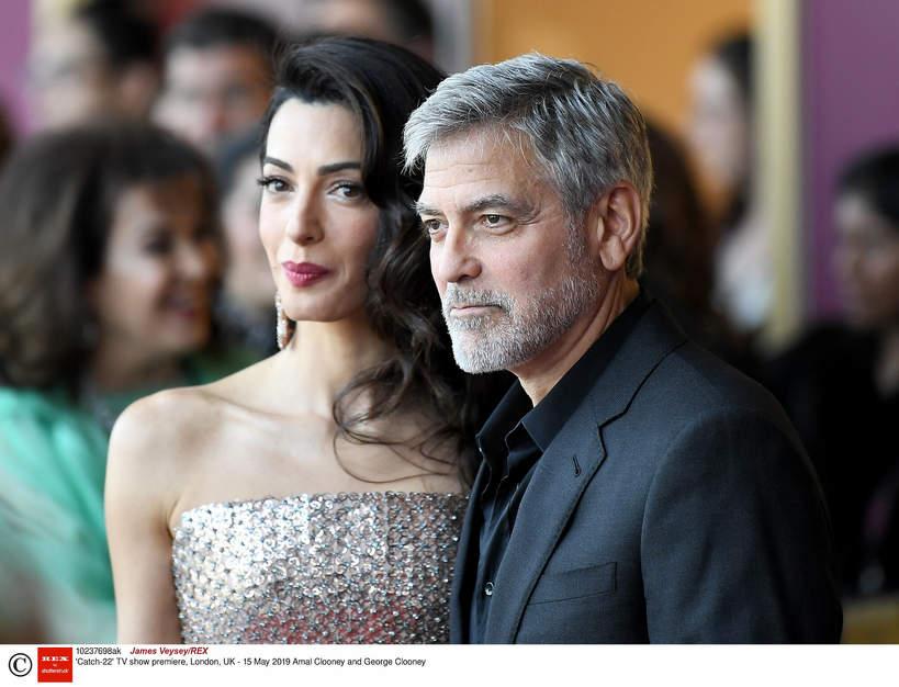 Amal Clooney, George Clooney, 2019