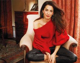 Amal Clooney na okładce Vogue'a. Ona i George Clooney niedawno zostali rodzicami bliźniąt!