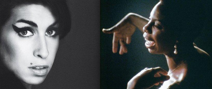 Amy Winehouse i Nina Simone