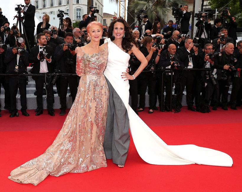 """Andie MacDowell, Helen Mirren, premiera filmu """"Les Plus Belles Annees D'Une Vie"""", Cannes 2019"""