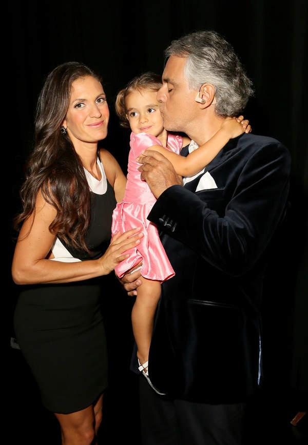 Andrea Bocelli dzieci, Andrea Bocelli córka