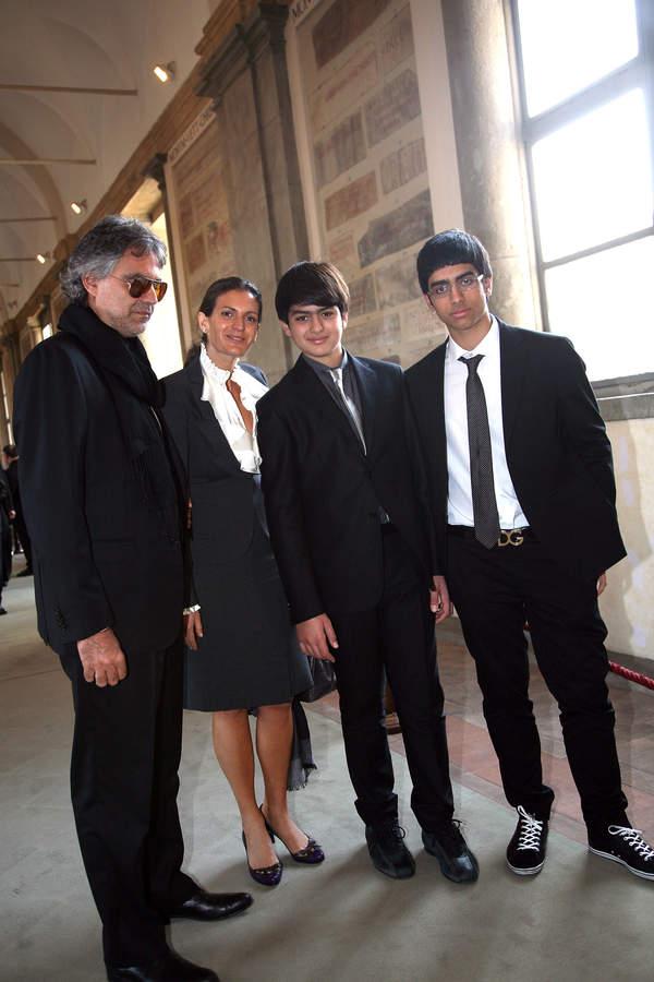 Andrea Bocelli dzieci, Andrea Bocelli dzieci, Andrea Bocelli synowie