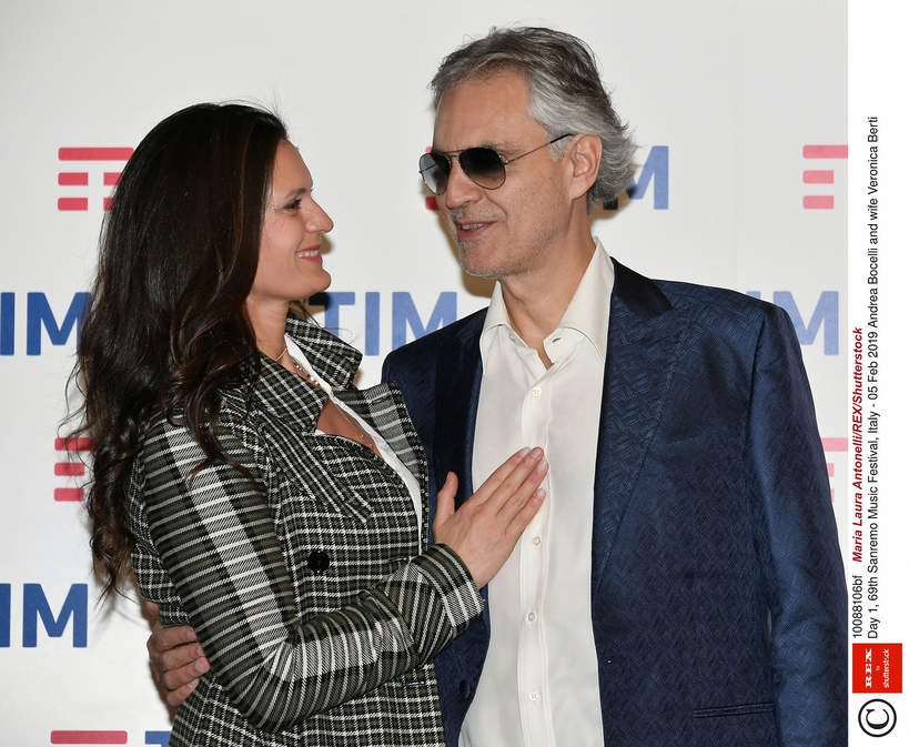 Andrea Bocelli i Veronica Berti: historia miłości