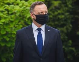 """Prezydent Andrzej Duda o maseczkach. """"Nie każdy może, nie każdy lubi"""""""