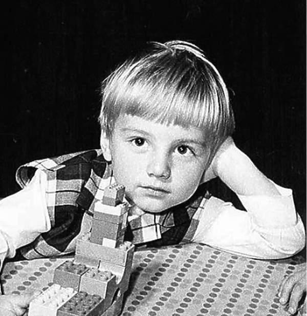 Andrzej Duda jako dziecko