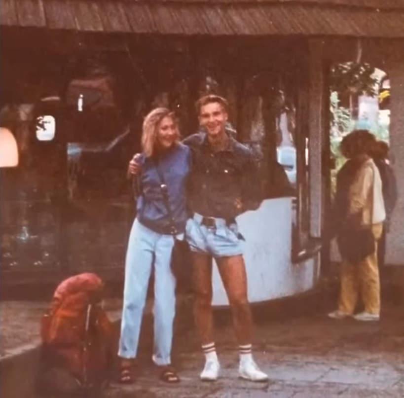 Andrzej Duda z żoną, stare zdjęcia
