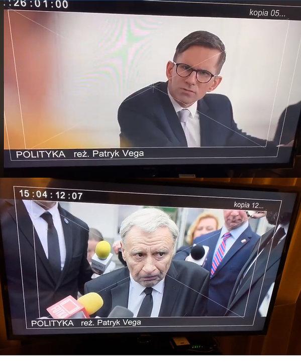 Andrzej Grabowski i Marcin Bosak w filmie Vegi
