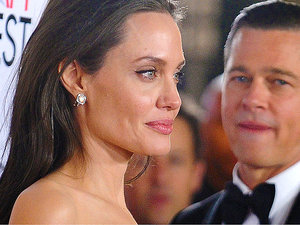Angelina Jolie, Brad Pitt, James Haven