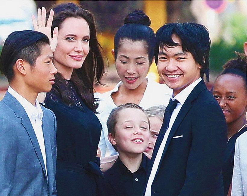 Angelina Jolie, dzieci Angeliny Jolie