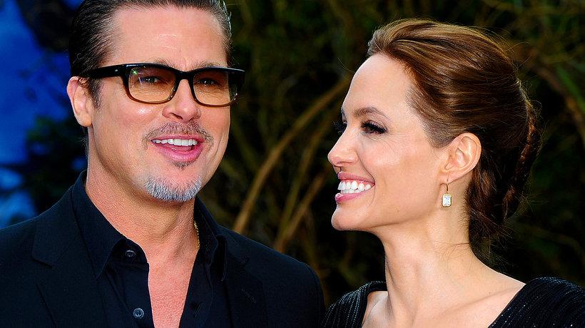 Angelina Jolie i Brad Pitt MT