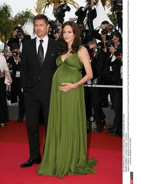 Angelina Jolie i Brad Pitt w Cannes