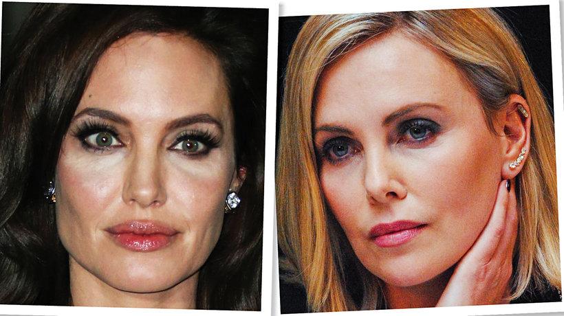 Angelina Jolie i Charlize Theron