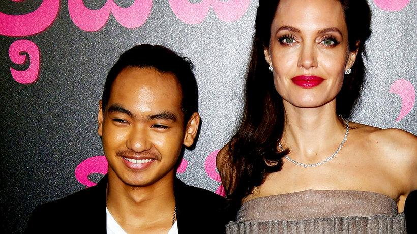 Angelina Jolie i Maddox