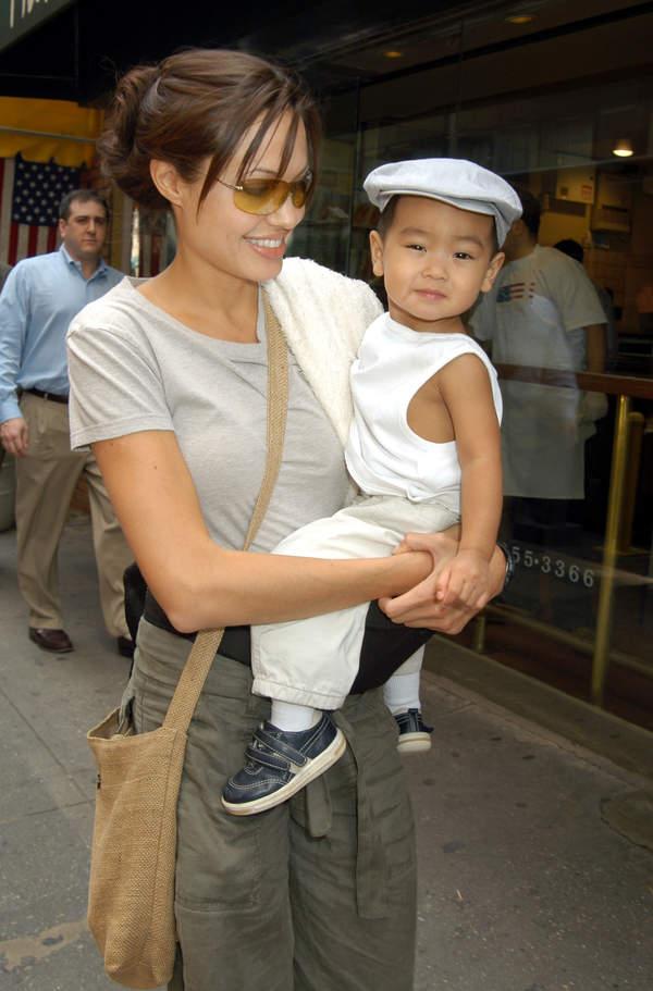 Angelina Jolie i Madox