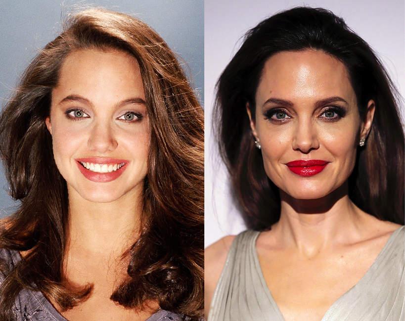 Angelina Jolie jak się zmieniała przez lata