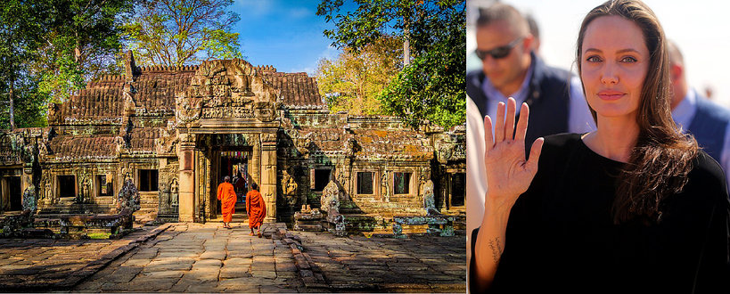 Angelina Jolie Kambodża