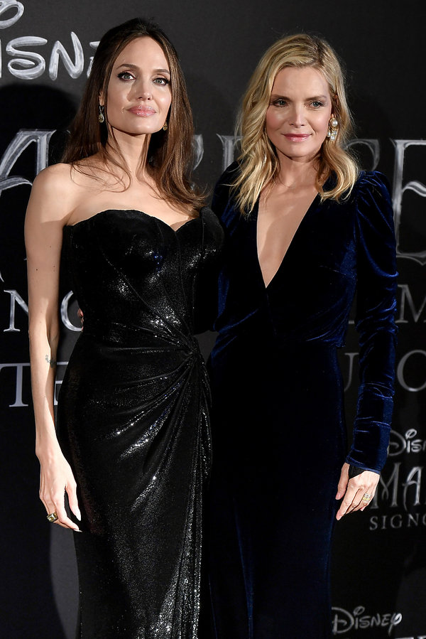 Angelina Jolie, Michelle Pfeiffer