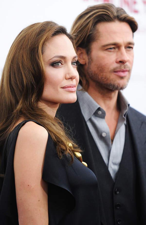 Angelina Jolie oskarży Brada Pitta o przemoc domową?
