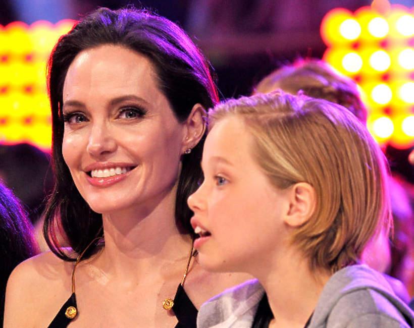 Angelina Jolie, Shiloh Jolie-Pitt, John Jolie-Pitt