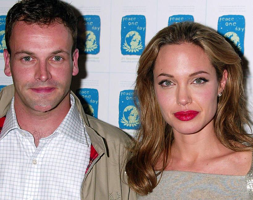 Angelina Jolie spotkała się z byłym mężem