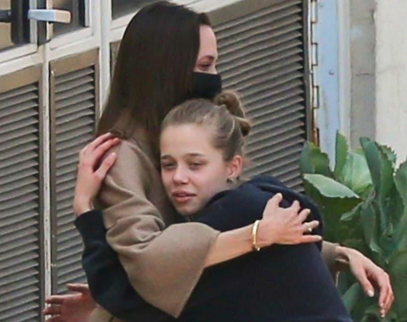 Angelina Jolie w szpitalu, dzieci JAMNIK