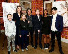 Angelina Jolie na zdjęciachdo magazynu wykonanych przez jej syna!