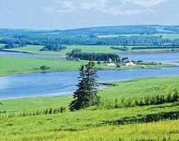 Ania z Zielonego Wzgórza, podróże, Wyspa Księcia Edwarda