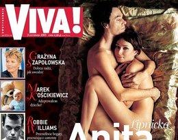 Anita Lipnicka i John Porter na okładce magazynu Viva!