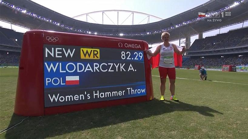 Anita Włodarczyk rekord świata w rzucie młotem